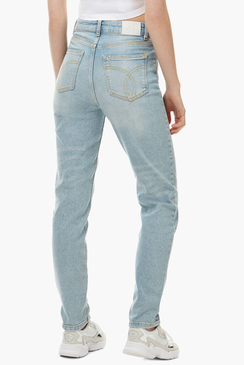 Tara Stretch Tapered Jean Blue