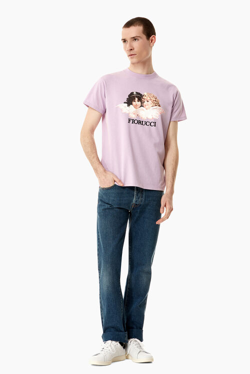 Vintage Angels T-Shirt Lilac