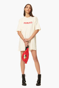 Fiorucci Desert T-Shirt Dress Cream