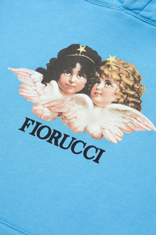 Vintage Angels Hoodie Blue