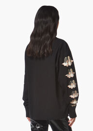 Long Sleeve Angels T-Shirt Black