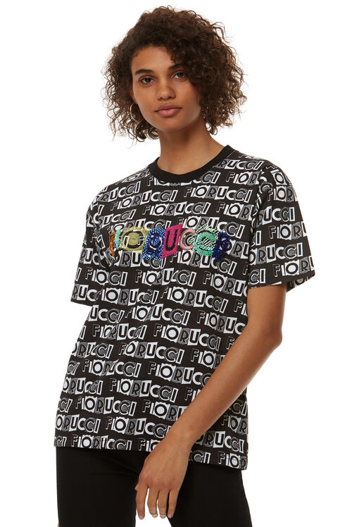 All Over Print Logo T-Shirt