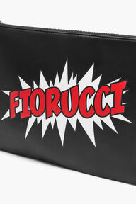 Oversized Bang Pouch Bag Black