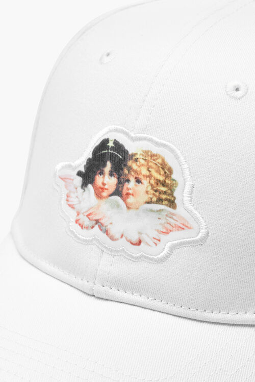 Angel Logo Cap White