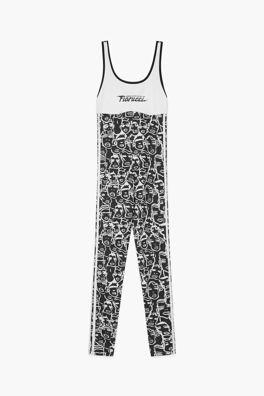 Adidas x Fiorucci Faces Print Bodysuit