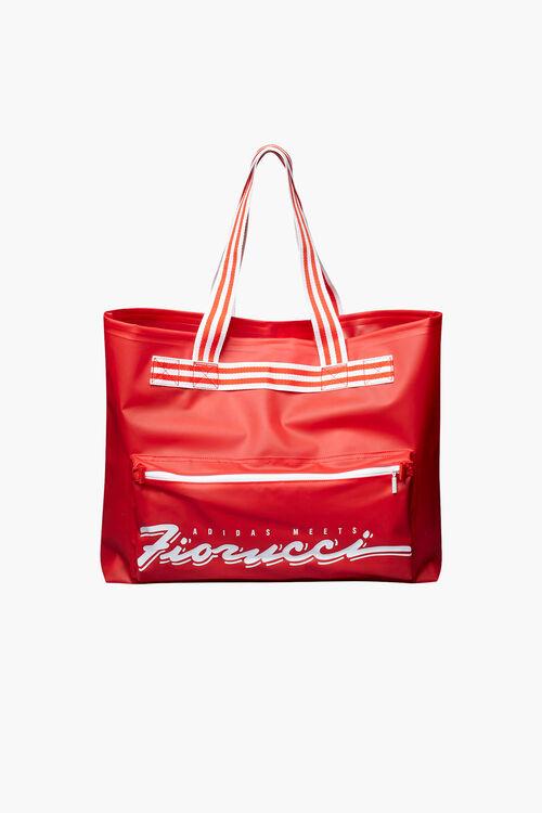 Adidas x Fiorucci Stripe Tote Bag Red/White