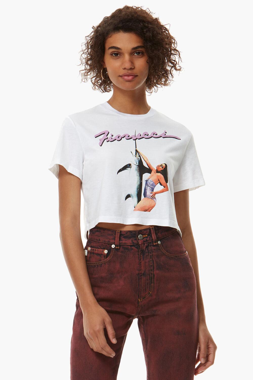 Swordfish Crop T-Shirt