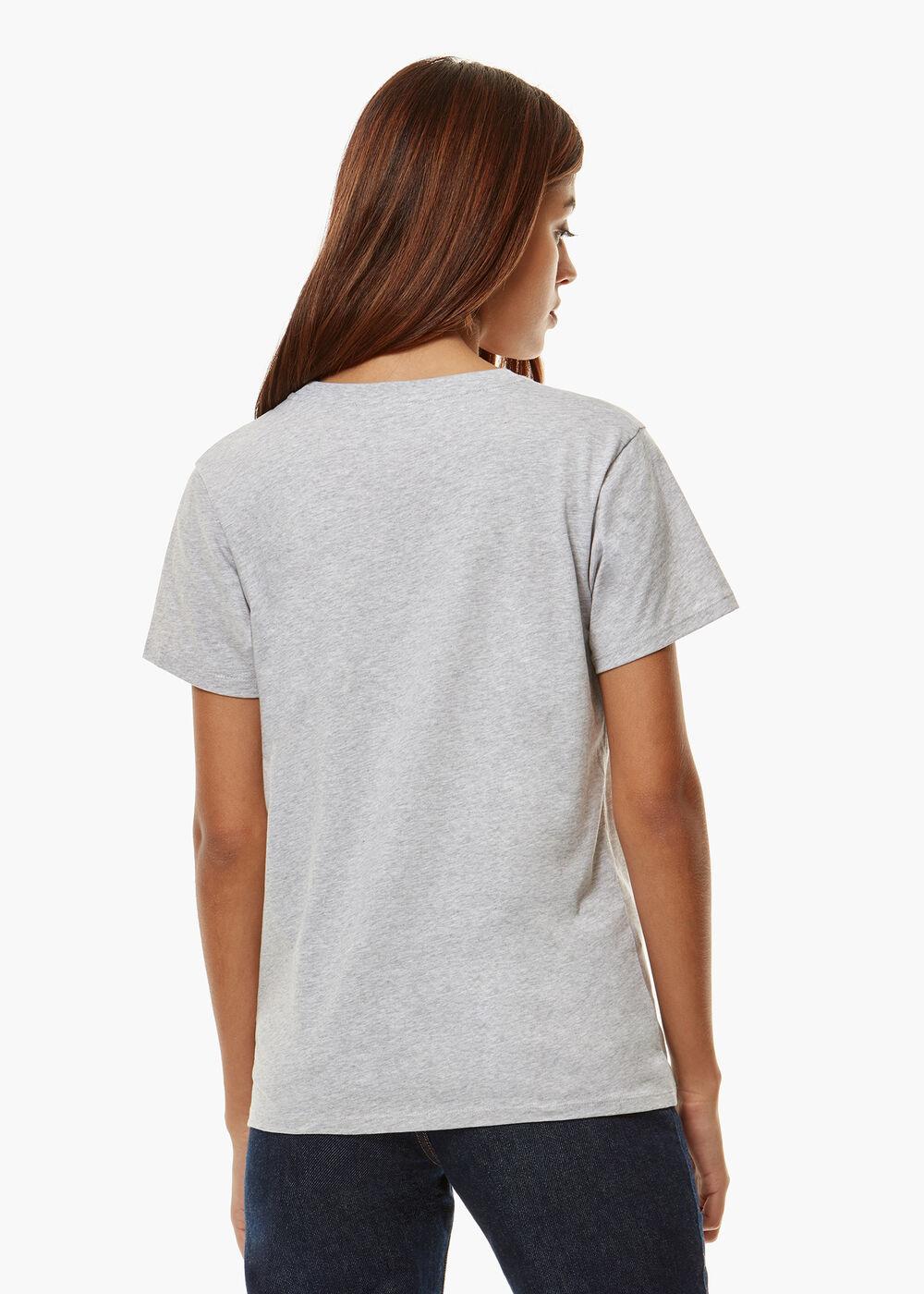 Angels T-Shirt Heather Grey