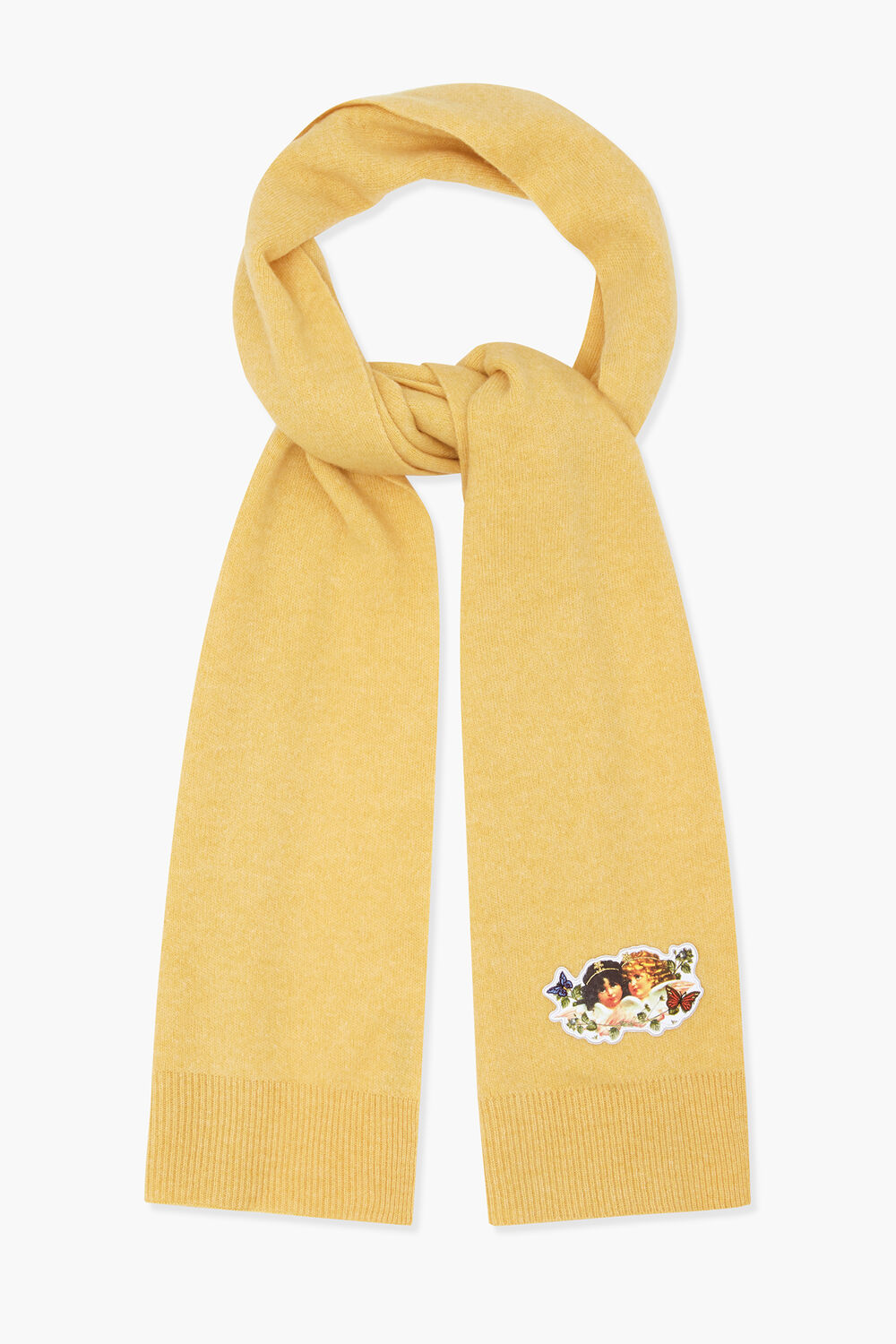 Woodland Angel Scarf Yellow