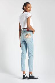 Angels Tara Tapered Jeans Blue