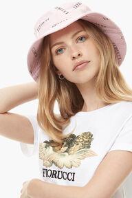 Cord Logo Bucket Hat Pink