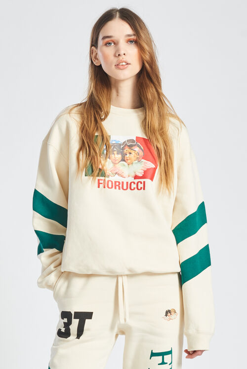 Speed Queen Angels Sweatshirt Off White