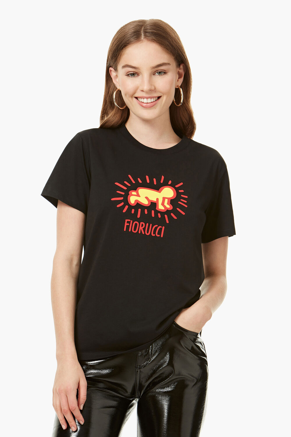 Keith Haring Radiant Baby T-Shirt Black