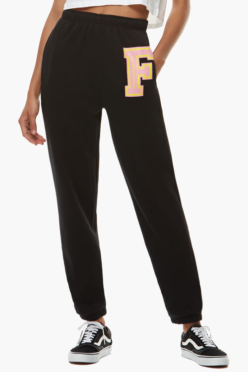 F Patch Sweatpant