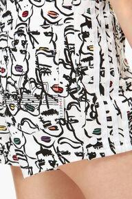 Adidas x Fiorucci Faces Print Short