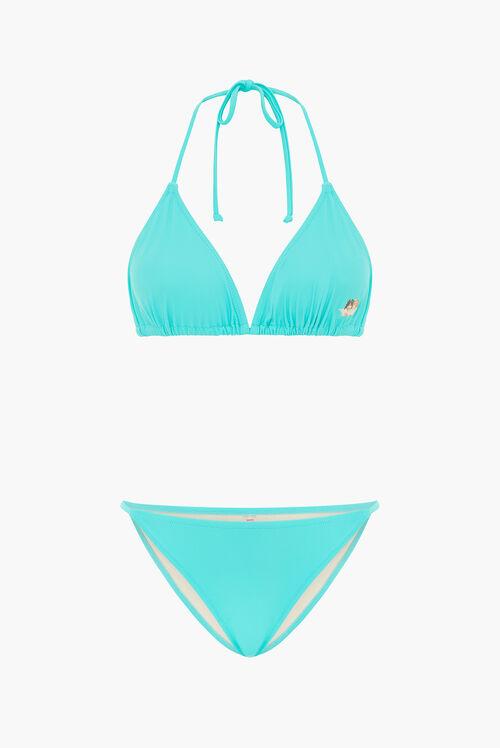 Angels Bikini Top Turquoise