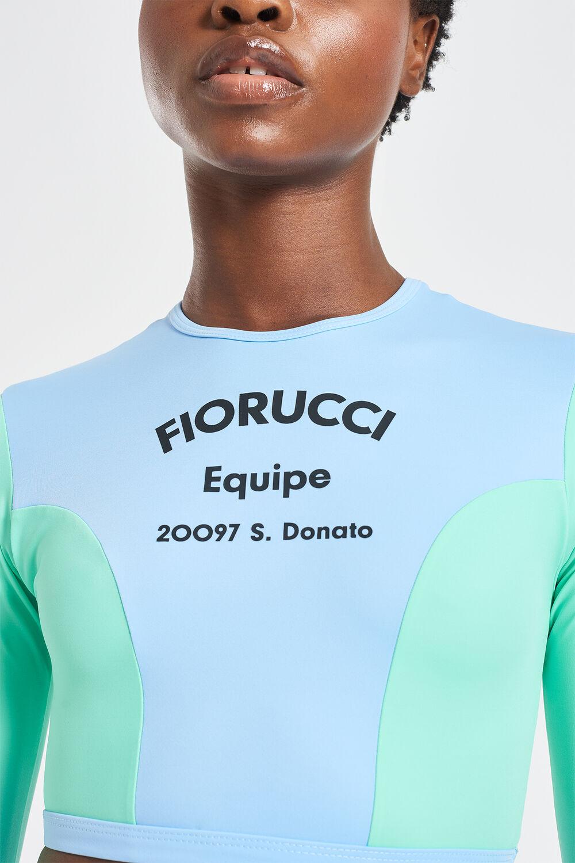 Equipe Logo Scuba Long Sleeve Top Green