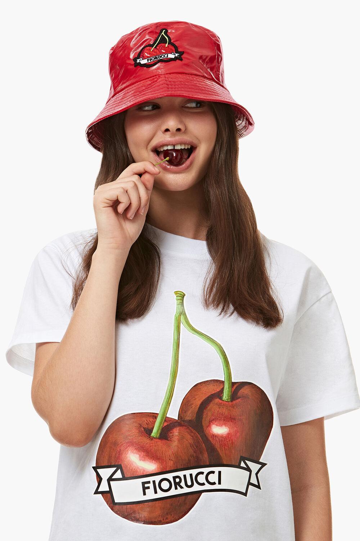 Cherry Vinyl Bucket Hat