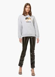 Angels Sweatshirt Heather Grey