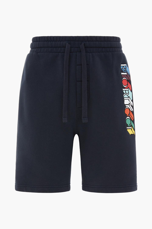 Mono Logo Sweat Short Navy