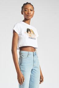 Angels Crop T-Shirt White