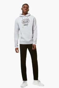 Keith Haring Hoodie Grey