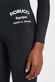 Equipe Logo Scuba Leggings Black