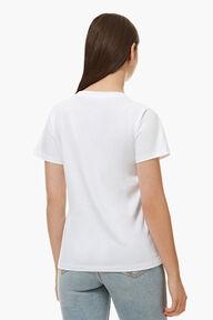 Cheetah Graphic T-Shirt White