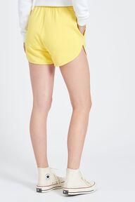 Equipe Logo Shorts Yellow