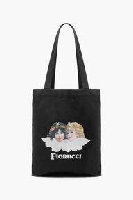 Enchanted Angels Tote Bag Black