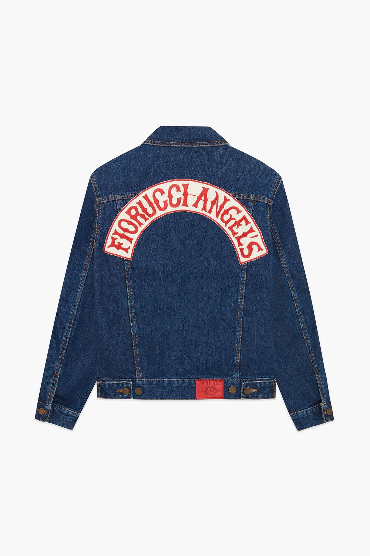Nico Denim Jacket Dark Blue