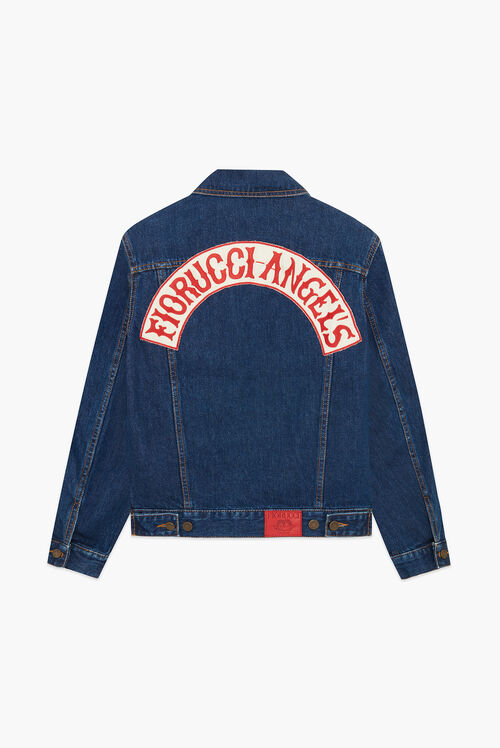 Nico Denim Jacket Dark Blue