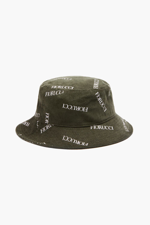 Cord Logo Bucket Hat Green