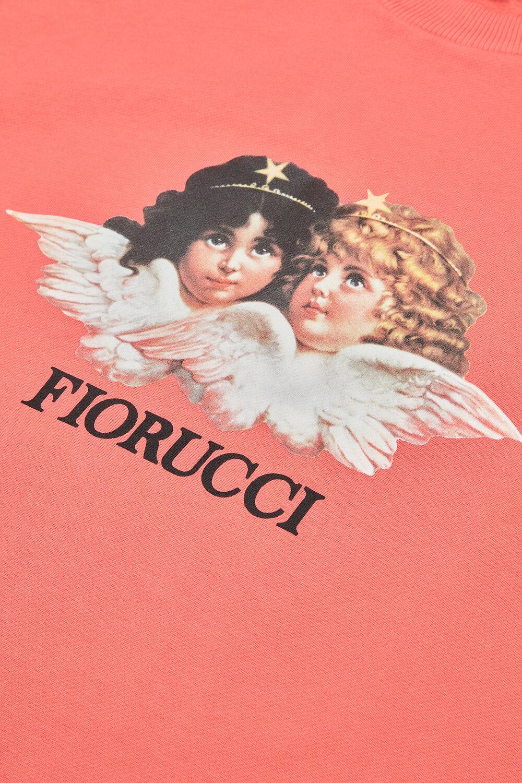 Angels Sweatshirt Peach Pink