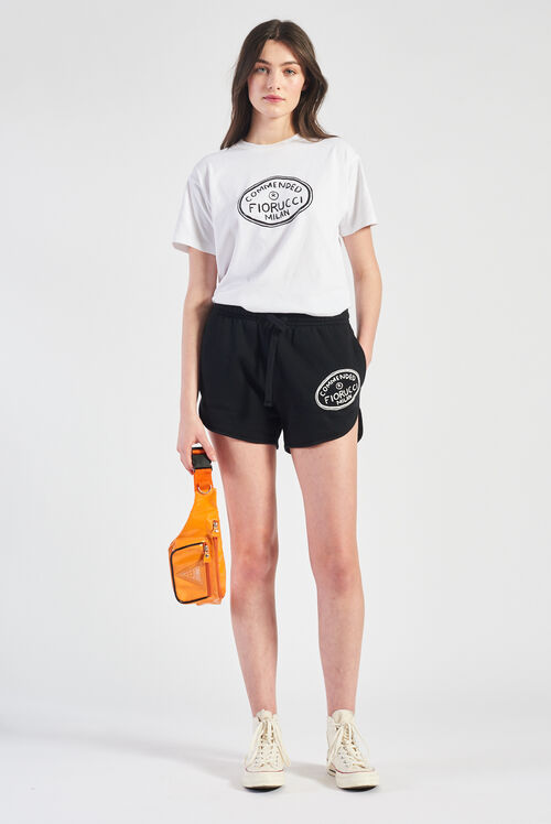 Commended Track Shorts Black