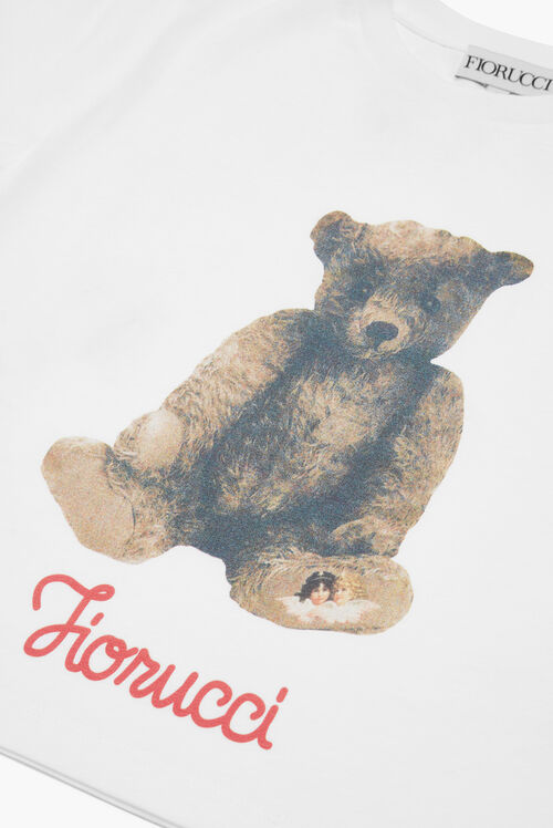 Teddy Bear Boxy Crop T-Shirt