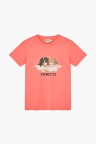 Angels T-Shirt Peach Pink