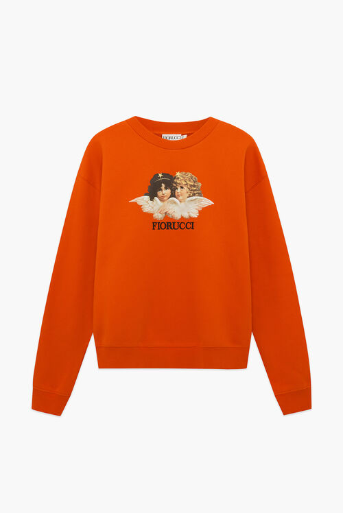 Angels Sweatshirt Orange