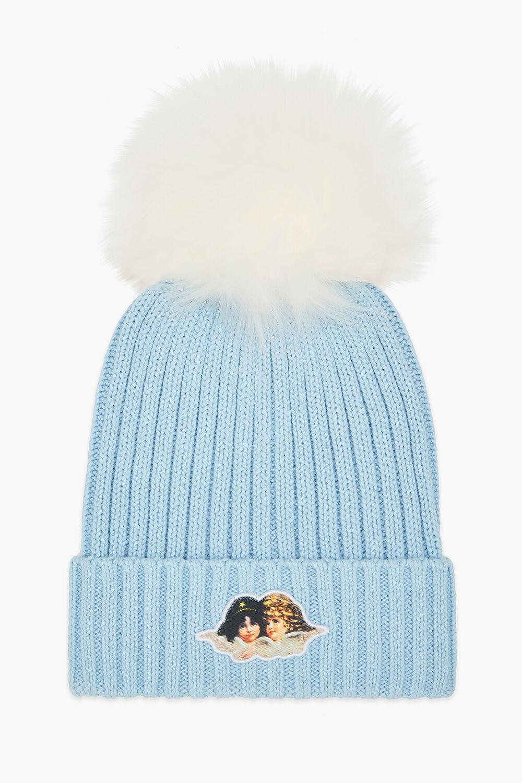 Icon Angels Bobble Hat Blue