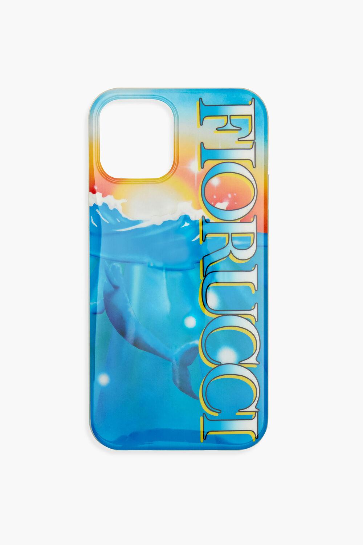 Cosmic Ocean Phone Case Blue