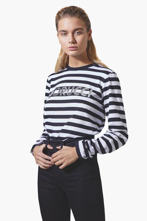 Iconic Stripe Long Sleeve T-Shirt