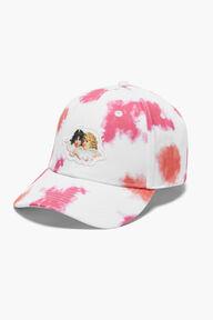 Angels Tie Dye Cap Pink