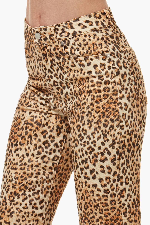 Tara Leopard Print Jean