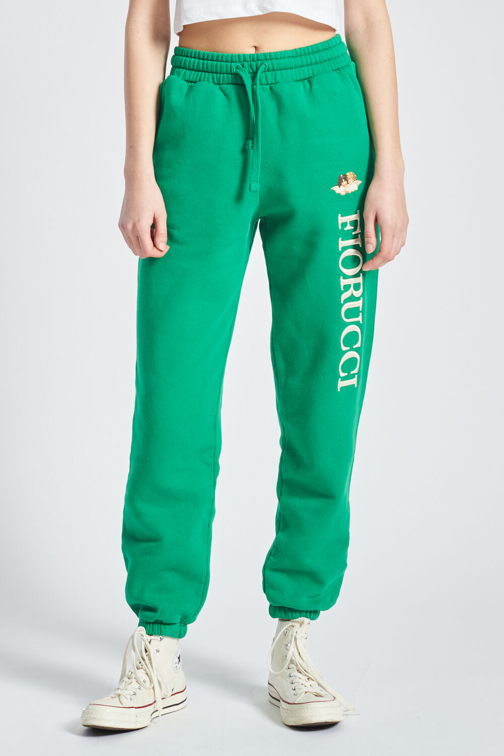 Angels Logo Jogger Green