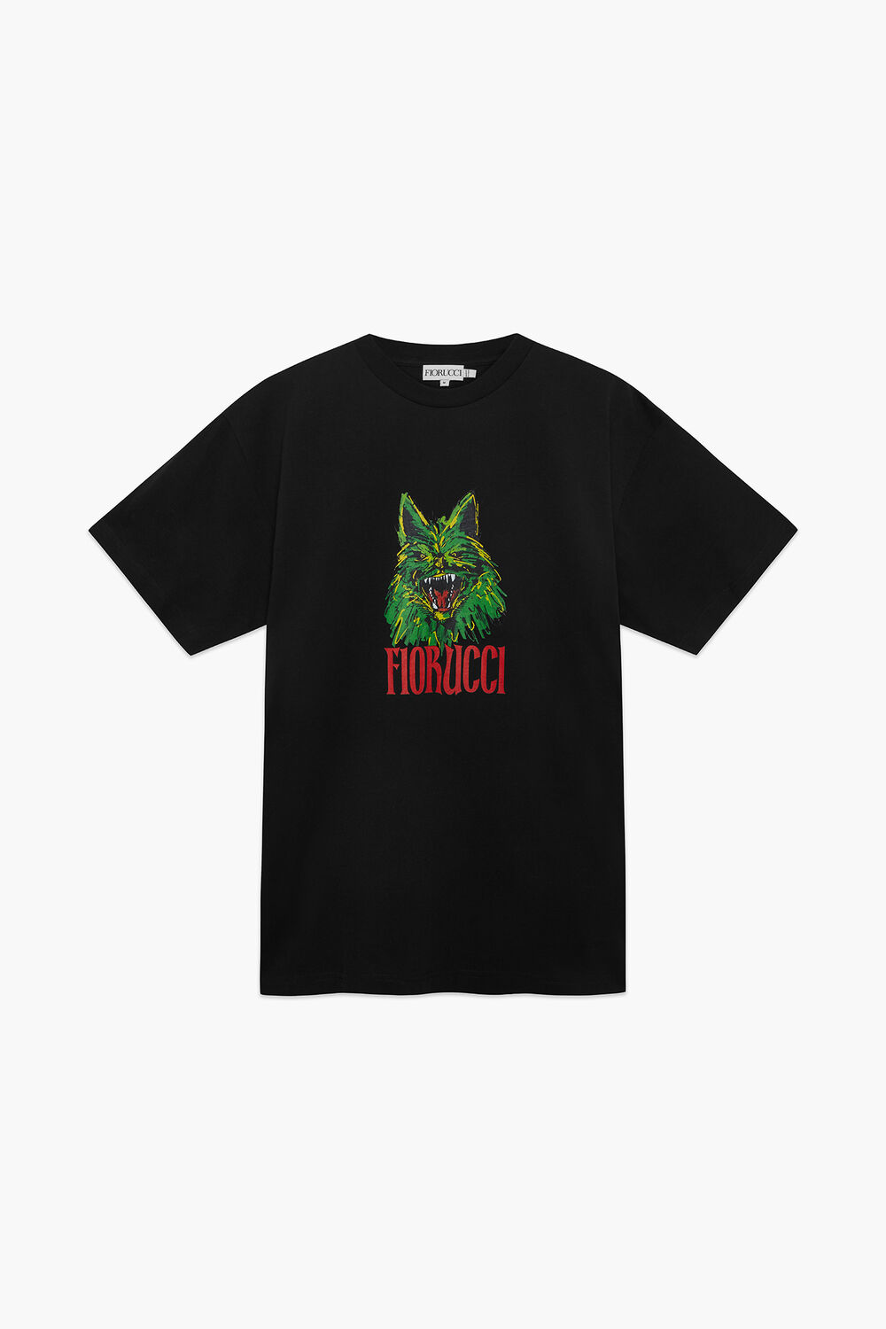 Coyote Oversized T-Shirt Black