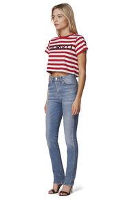 Stripe Crop T-Shirt