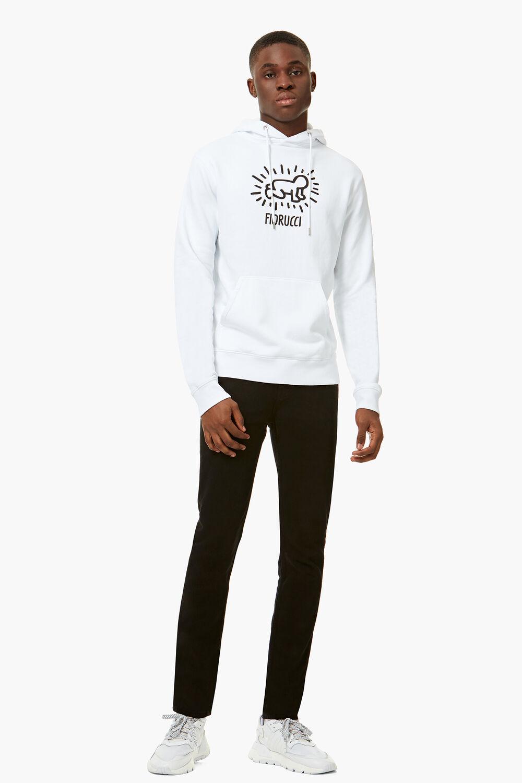 Keith Haring Hoodie White