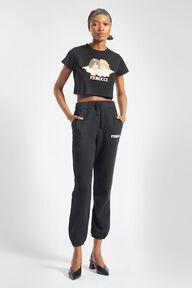 Angels Crop T-Shirt Black
