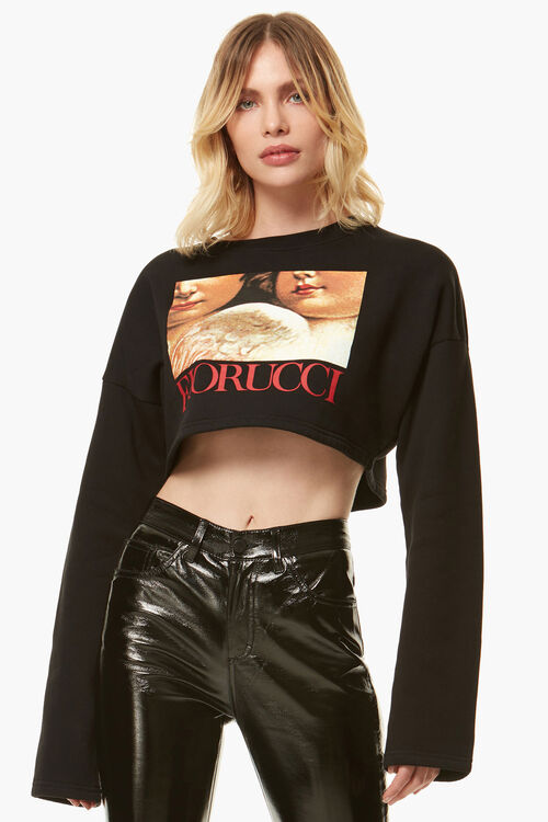 Renaissance Angels Cropped Sweat