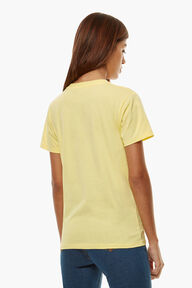 Angels Logo T-Shirt Lemon Yellow